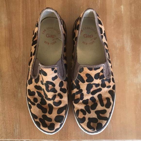 GAP Shoes   Gap Leopard Slide Sneakers